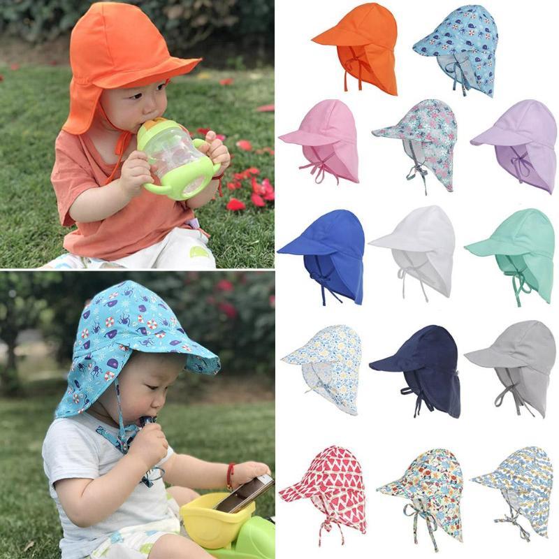 UPF50 + защита от ультрафиолета, солнцезащитные шапки, дышащие, для маленьких детей, для мальчиков и девочек, унисекс, Панамы, летние шляпы для н...