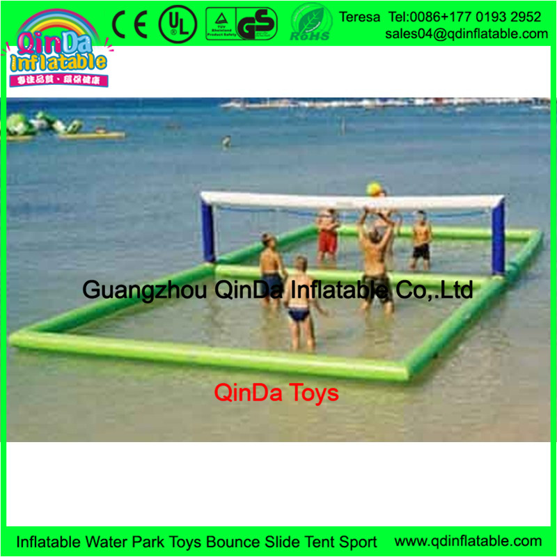 inflatable water volleyball court 201