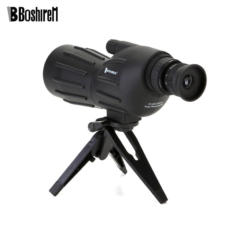 Binoculars Zoom With Watch Telescopio 15 Spotting Telescope Tripod Bird Tourism Monocular 40x50 Hunting Power HD High For Scope