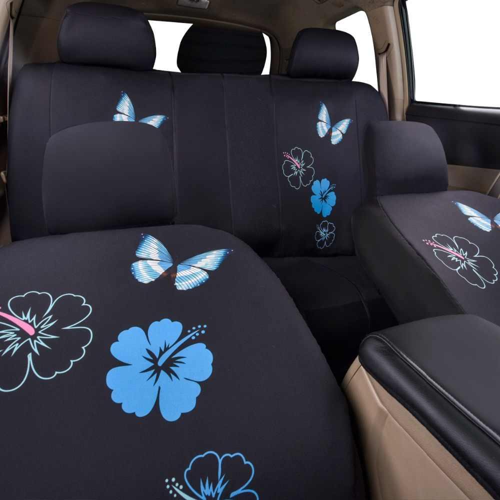 Araba geçmek evrensel araba koltuğu kapakları için kelebek kapak arabalar, Suv araba iç aksesuarları