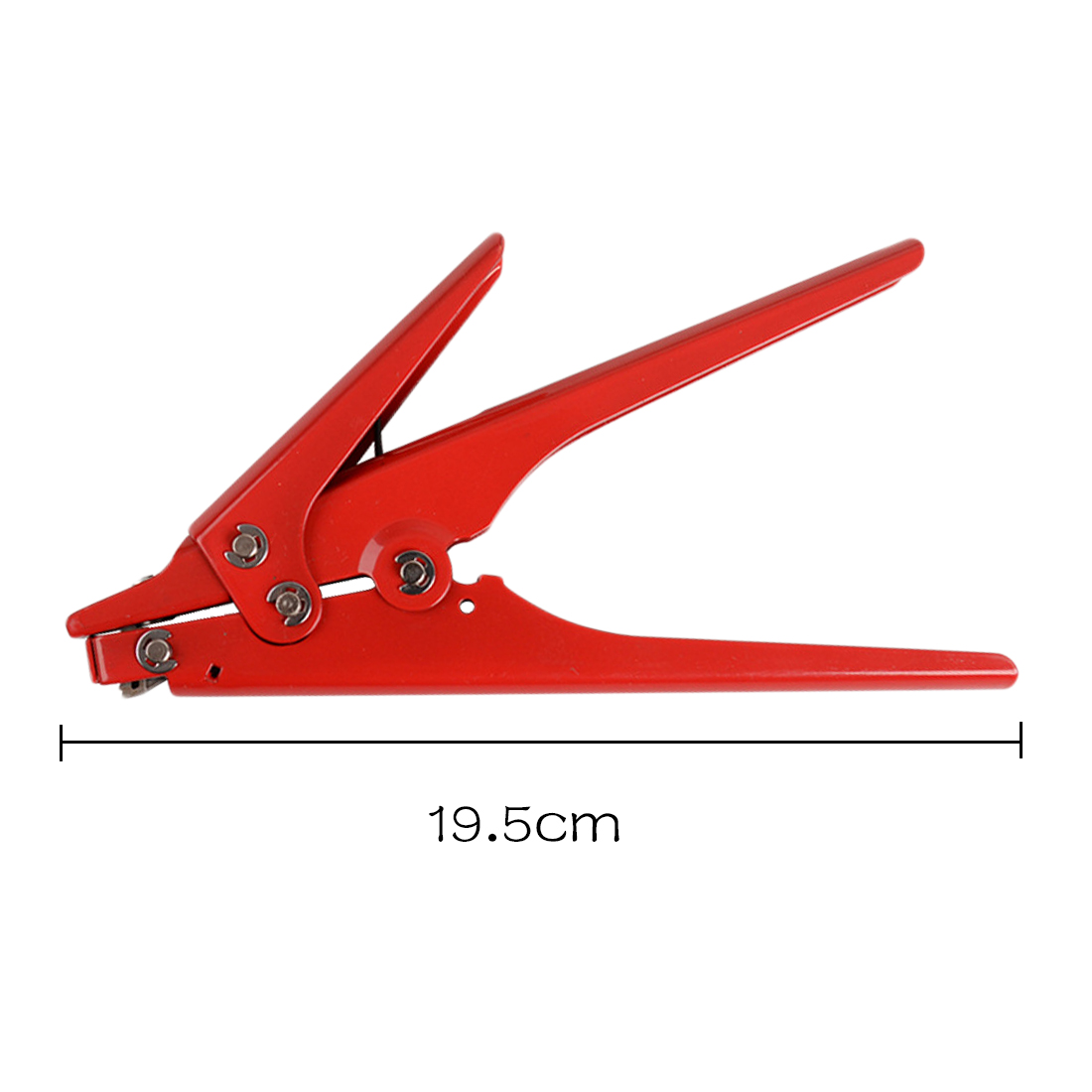 Heavy Duty Cable Zip Ties 2.4-9mm Automatic Tension Cutoff Gun Tool Hand Tool