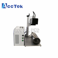 Factory price portable 3D laser marking engraving printing machine for bottle glass with CE certificate