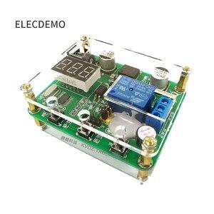 Image 3 - CNC zamanlama röle modülü ses ve ışık alarmı 0 ~ 999S zamanlama Optocoupler izolasyon 6 ~ 36V güç tedarik
