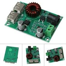 цена на Reusable XH-M224 Step Down Module Board DC9-30V Dual USB Output Charger