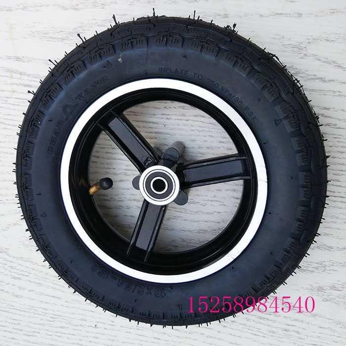 BESTE 10x2 inch Tyre/Binnenband voor Scooter Kinderwagen kinderwagen Kinderen Fiets Schwinn Roadster Trike Driewieler Achterwielen Gebogen Valve