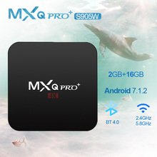 MXQPRO+S905W 2GB RAM 16GB Amlogic S905W Android hot Smart TV Box HDMI H.265 4K WIFI  Media Player TV BOX