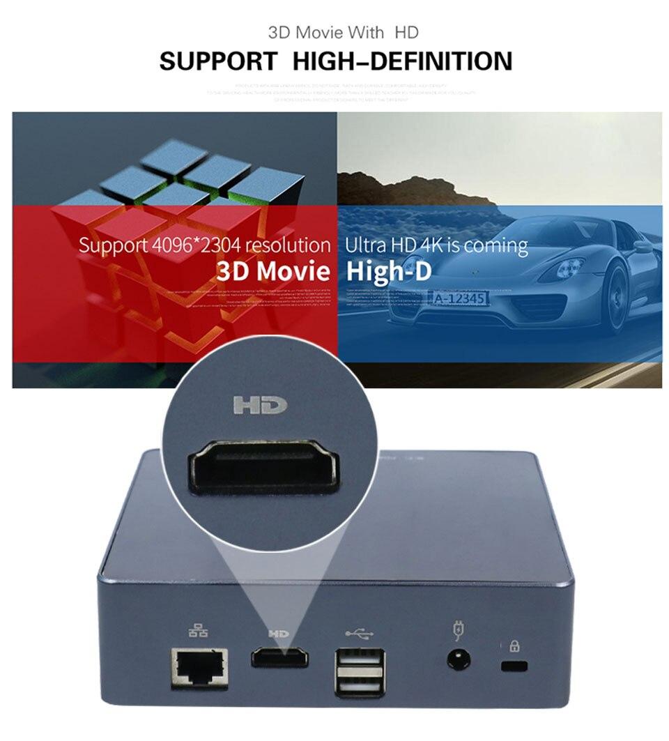 Mini PC 4K 15