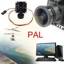 Новый FPV HD 1/4 »700TVL CMOS Модуль Камеры Широкоугольный PAL Для Воздуха вертолет камеры fpv rc автомобиль STA