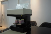 The latest Food cake printer Selfie latte art coffee 4 cups print machine with CE certification