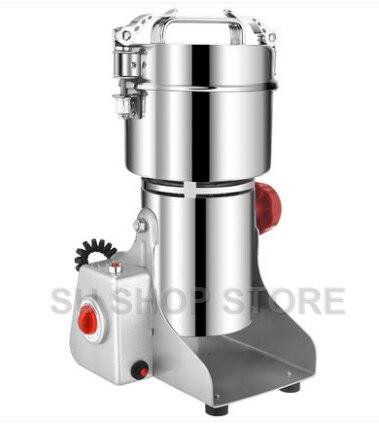 110 v 700g Grani Spezie Hebals Cereali Cibo Caffè Grinder Mulino di Macinazione Macchina gristmill medicina casa farina in polvere frantoio