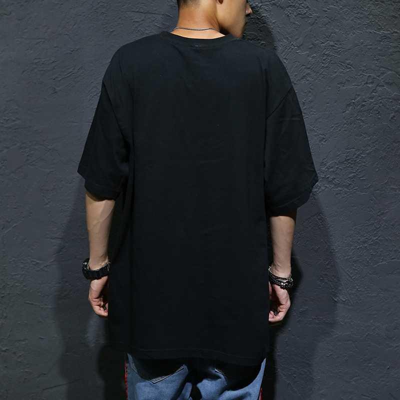 MFERLIER Мужская футболка с коротким рукавом хип-хоп летние футболки Плюс большой размер 5XL футболка для уличного танца хлопок 8XL 10XL футболки 9XL