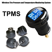 Tire Strain Monitoring System Automobile TPMS with four pcs Exterior Sensors excessive Low stress excessive temperature warnings