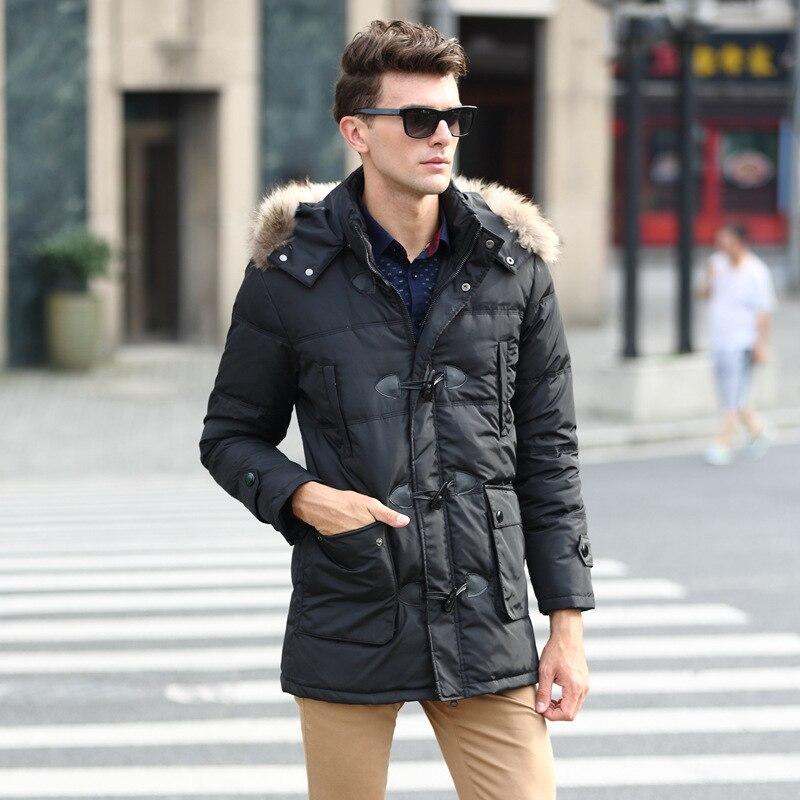 Plus xl - 6 xl 7xl 8 xl (bust 160 cm) 2016 new winter coats men long big yards with thick collars warm men s coat