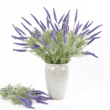 5 Forks Artificial Lavender Flower Simulation Romantic for Wedding Party Home Table Decor