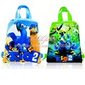 2pcs Rio 2 Hot Cartoon Drawstring Backpack Bags 34*27CM Non-Woven Fabric Multipurpose Bags Kids Party Gifts,School Furniture
