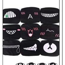 Женские Мужские Мультяшные хлопковые маски со ртом для лица Пылезащитная маска для лица аниме Муфельная горячая распродажа