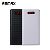 Remax Universal 30000 Mah Power Bank 20000mah Battery Charger Phone Dual USB LED Light Portable LCD