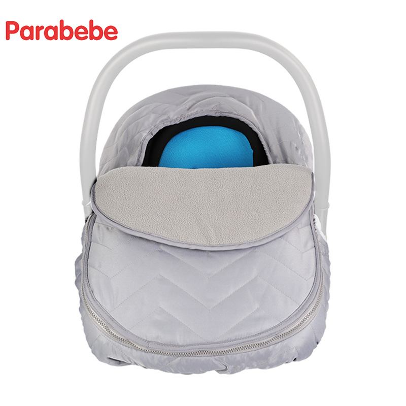 Luxury Baby Car Seat Cover Baby Basket Cover Autumn Winter