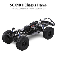 AUSTAR 313mm Wheelbase Chassis Frame With 540 35T Brushed Motor for 1/10 AXIAL SCX10 II 90046 90047 RC Crawler Climbing Car DIY