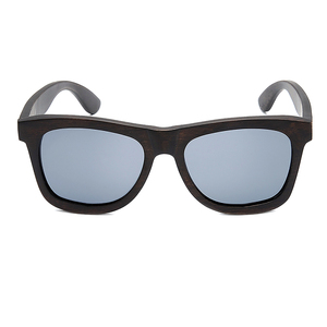 Image 4 - Bobo bird okulary 편광 된 에보니 우드 선글라스 브라운 그레이 렌즈 uv400 아이웨어 수제 맞춤형