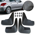 New Black 4 Pcs Mud Flap Flaps Splash Guardas Guarda-lamas Mudflaps defensas para peugeot 307 2000 2001 2002 2003 2004 2005 2006 2007