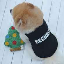 Puppy Clothing Shirts Security Pet Dog Clothes