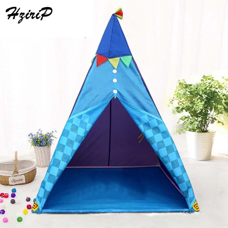 HziriP enfants tente Portable pliable Tipi Camping jeu jouet étanche bébé jouer maison en plein air Fun jouets tente pour enfants cadeaux