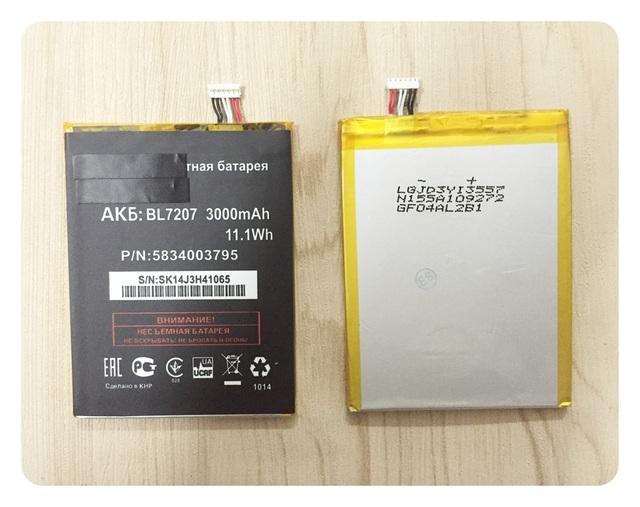 Para FLY IQ4511 BL7207 Baterias Bateria de alta qualidade; frete grátis