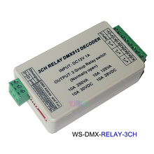 DC12V 3CH/4CH/6CH/8CH/12CH/16CH Relay switch dmx512 Controller ,XRL RJ45 DMX512 relay Dimmer for led lamp light