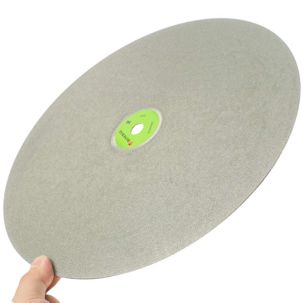 18 inch Grit 60 600 Diamond Grinding Disc Abrasive Wheel Coated Flat Lap Disk ILOVETOOL
