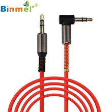 Binmer  3.5mm Auxiliary Cable Audio Cable Male To Male Flat Aux Cable 1.2m Oct 24