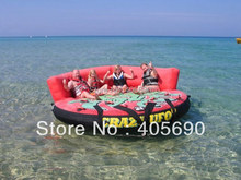 inflatable crazy UFO for water ski