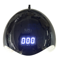 Sun5 48W LED Lamps UV Nail Dryer for Manicure Ice Nail Lamp Lacquer Gel Regular Polish UV Light Drying Hybrid Lamp for Nails