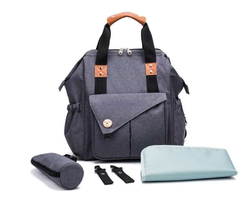 Fashion Mummy Maternity Bag Multi-function Diaper Bags Backpack Nappy Bag With Stroller Straps For Baby Care function baby diaper mama bags maternity five piece mummy bag for moms with nappy bags