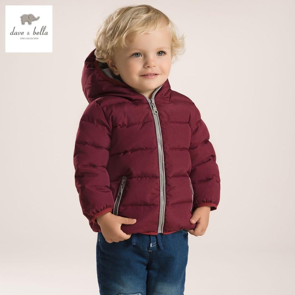 DB2933 dave bella winter säuglings mantel baby gepolsterte