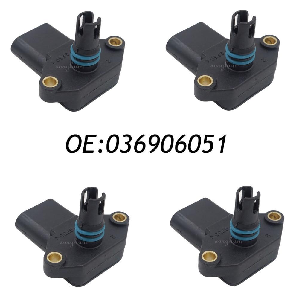 4 pièces 036906051 0279980411 pour 93-05 VW Golf carte capteur de pression d'admission