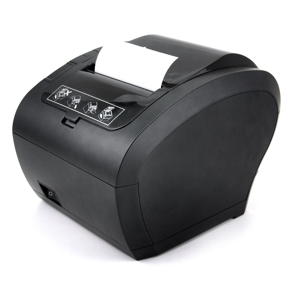 80mm Thermal Receipt Printer Automatic cutter Restaurant Kitchen POS Printer USB+Serial+Ethernet Wifi Bluetooth printer 80mm pos receipt printer with bluetooth wifi