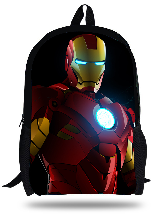 Home Official Website 2015 New Fashion Children Shoulder School Bags For Girl Superman The Avengers Messenger Bags For School Girls Boys 1-6 Years Old Non-Ironing