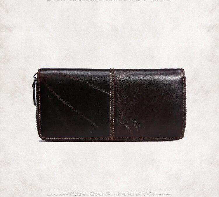 couro real para mulheres carteira Tipo de Estampa : Sólida