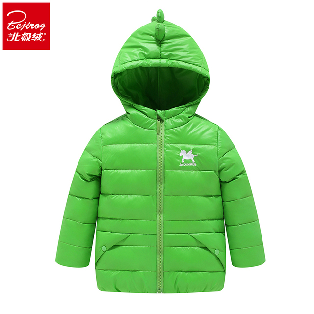a211b3f41 Kids Clothes Baby Boys Girls Winter Down Coat Children Warm Jackets ...