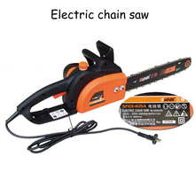 Handheld Electric Chain Saw High Power Wood Saws Sawing Machine Pure Copper Motor 16 Inch 2200w 405A