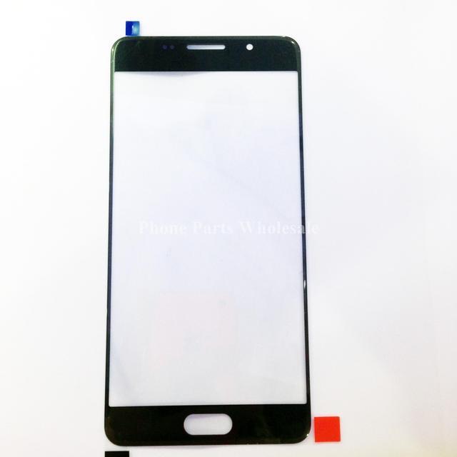 Для Samsung Galaxy A5 2016 A5100 ЖК Передняя Внешний Стеклянный Объектив Оригинал Экран Panal Крышки Стеклянной Линзой Запасные Части