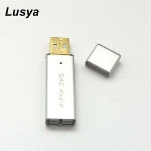 Image 1 - SA9023A + ES9018K2M المحمولة USB DAC HIFI حمى بطاقة الصوت الخارجية فك الترميز لأجهزة الكمبيوتر أندرويد مجموعة صندوق A6 017