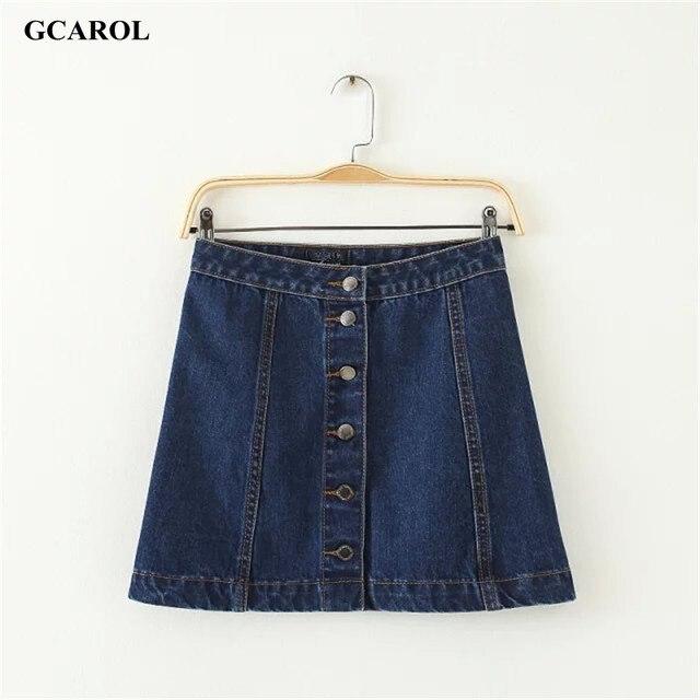 Женщины марка line джинсовые юбки однобортный джинсы юбки высокое качество Большой размер мода свободного покроя юбка для 4 сезона юбка карандаш юбка юбки женские джинсовая юбка школьная юбкa юбки карандаш
