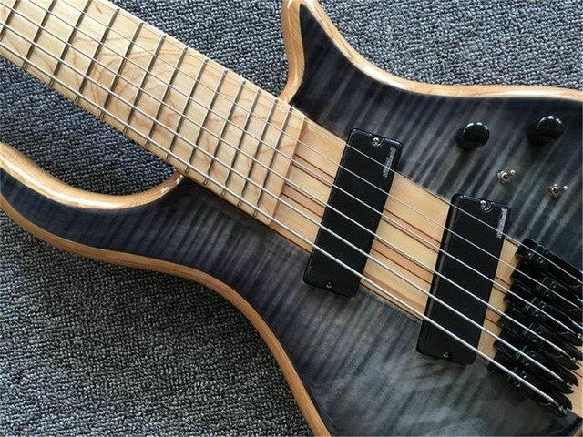 6 - string bass guitar, neck through the body 2