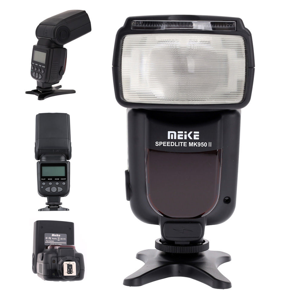 Meike MK-950II TTL Master Slave Flash Speedlite light for nikon d4 d750 d800 D7100 d600 d90 d3200 camera SB-700 SB-910 meike mk 910 i ttl flash speedlight hss master as for nikon sb 910 d810 d750 d7100