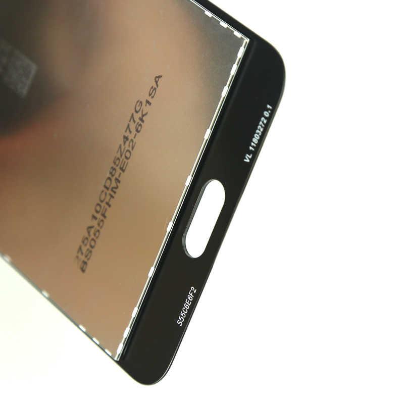 J7 Prime 2018 G611 LCD قطع غيار سامسونج غالاكسي J7 Prime 2 2018 G611 G611F شاشة الكريستال السائل مجموعة المحولات الرقمية لشاشة تعمل بلمس