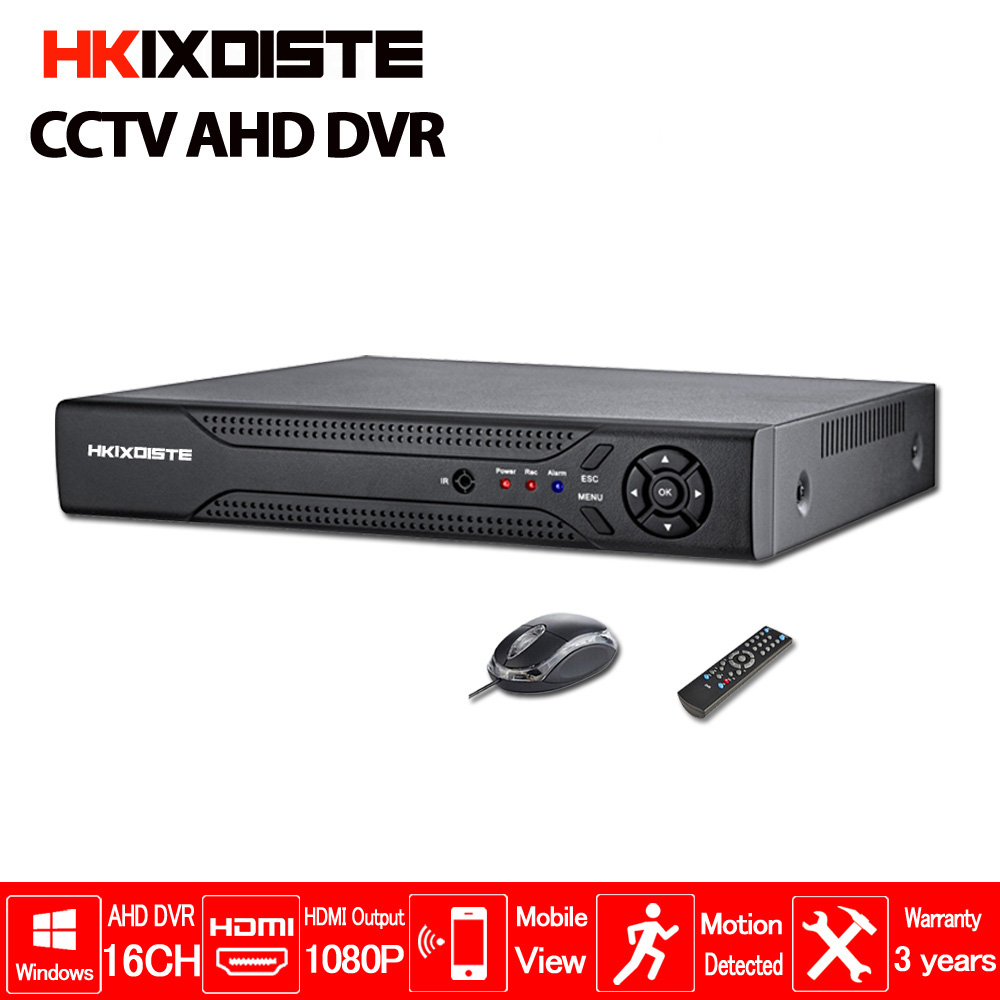 CCTV DVR 16Ch Digital Video Recorder 16 Channel H264 Home Security DVR 1080P HDMI Output  16CH AHD 1080N Hhybrid 3in 1 HD DVR free shipping h 264 ahd cctv dvr 16 channel security camera system stand alone hdmi d1 video surveillance digital video recorder