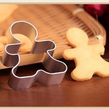 1 шт. рождественские формочки для печенья, инструменты из алюминиевого сплава, пряники для мужчин, праздничное печенье в форме, формочки, кухонные инструменты для украшения торта