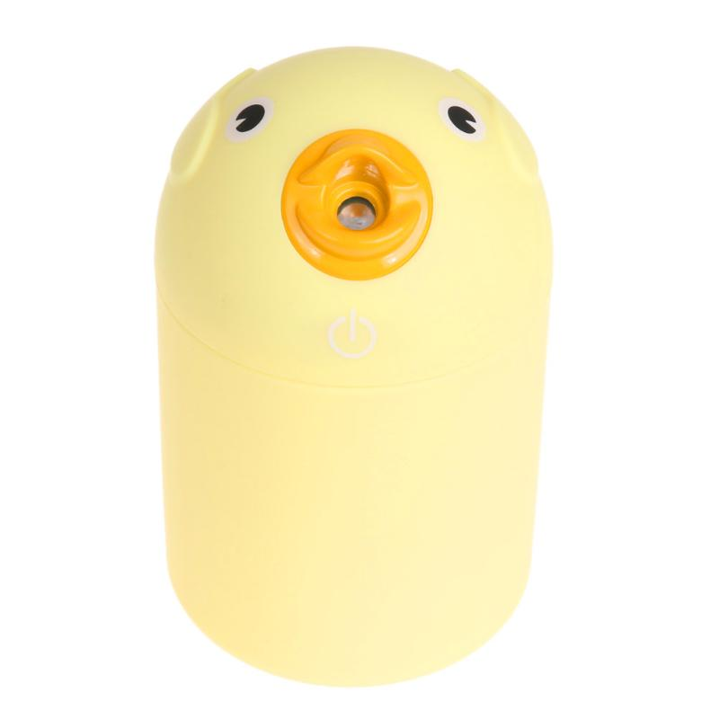 USB Ofice Home Ultrasonic Humidifier Creative Car Cartoon Yellow Duck Mini Humidifier Mist Maker Air Freshener Atomizer